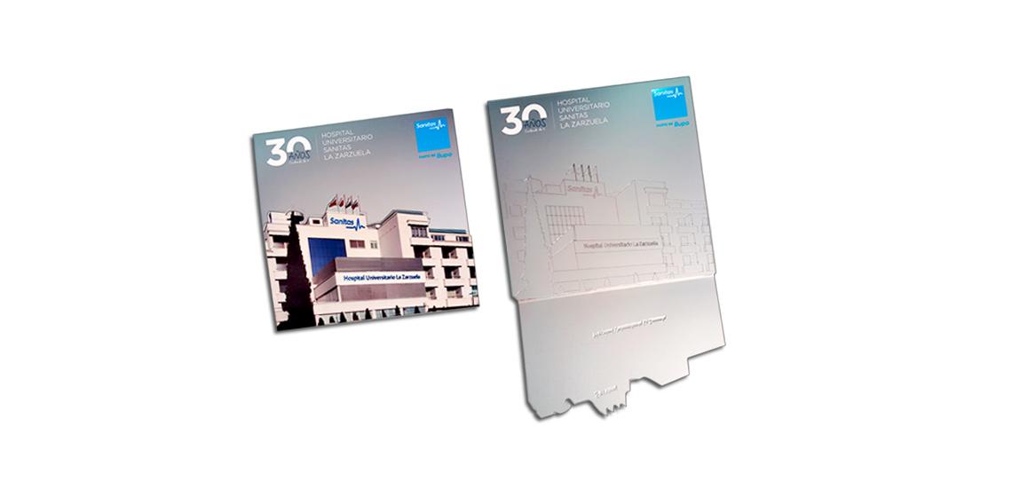 SANITAS. Folleto 30 aniversario Hospital la Zarzuela