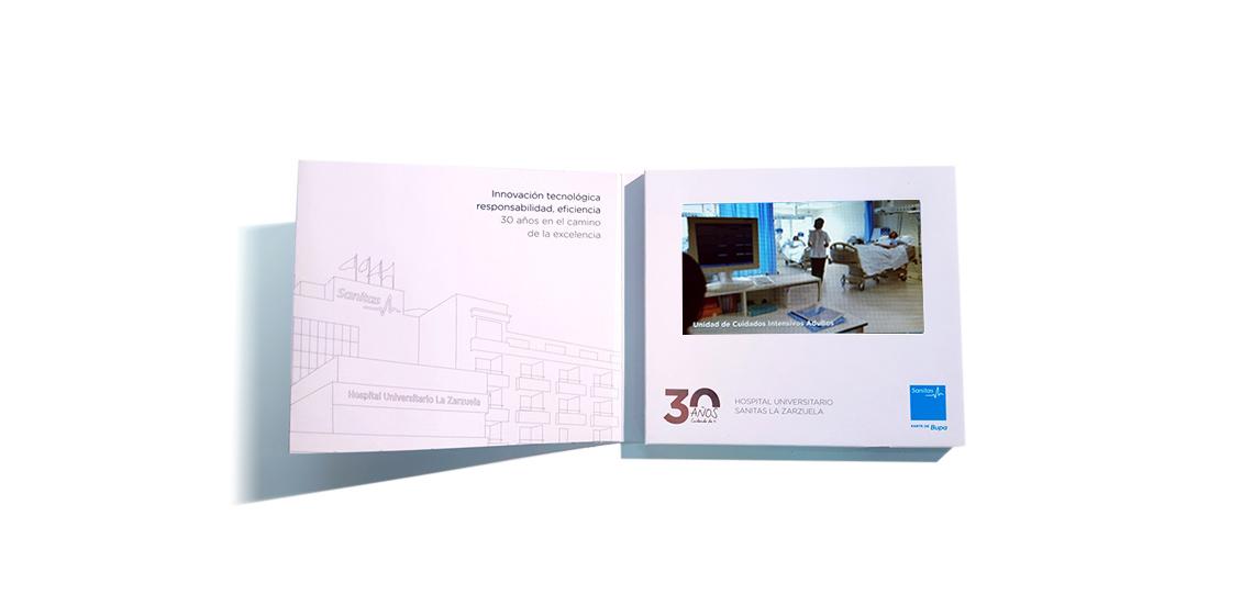 SANITAS. Video-folleto 30 aniversario Hospital la Zarzuela