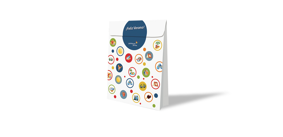 GAS NATURAL FENOSA. Packaging Promo Verano