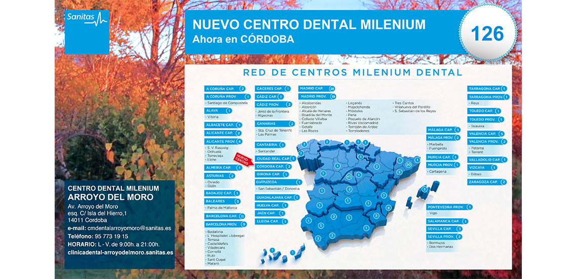SANITAS. Emailing Centros Dentales