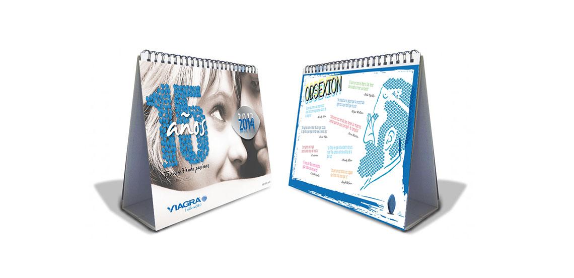 PFIZER. Calendario Viagra