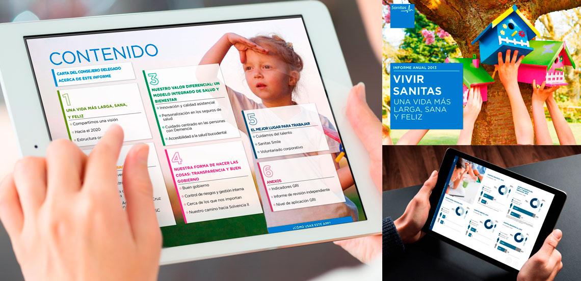 SANITAS. App Informe Anual 2013